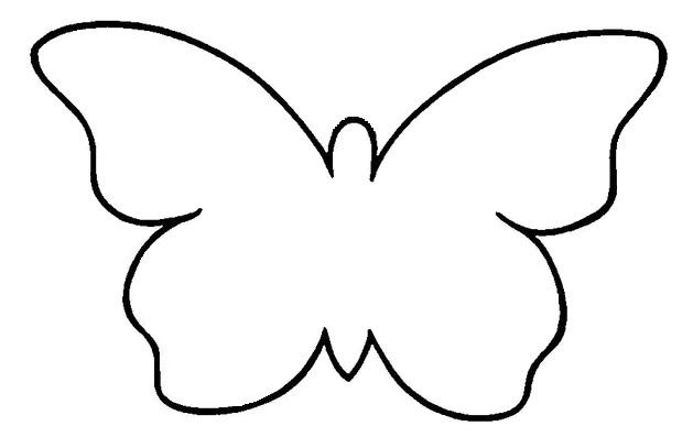 Трафарет - Бабочка