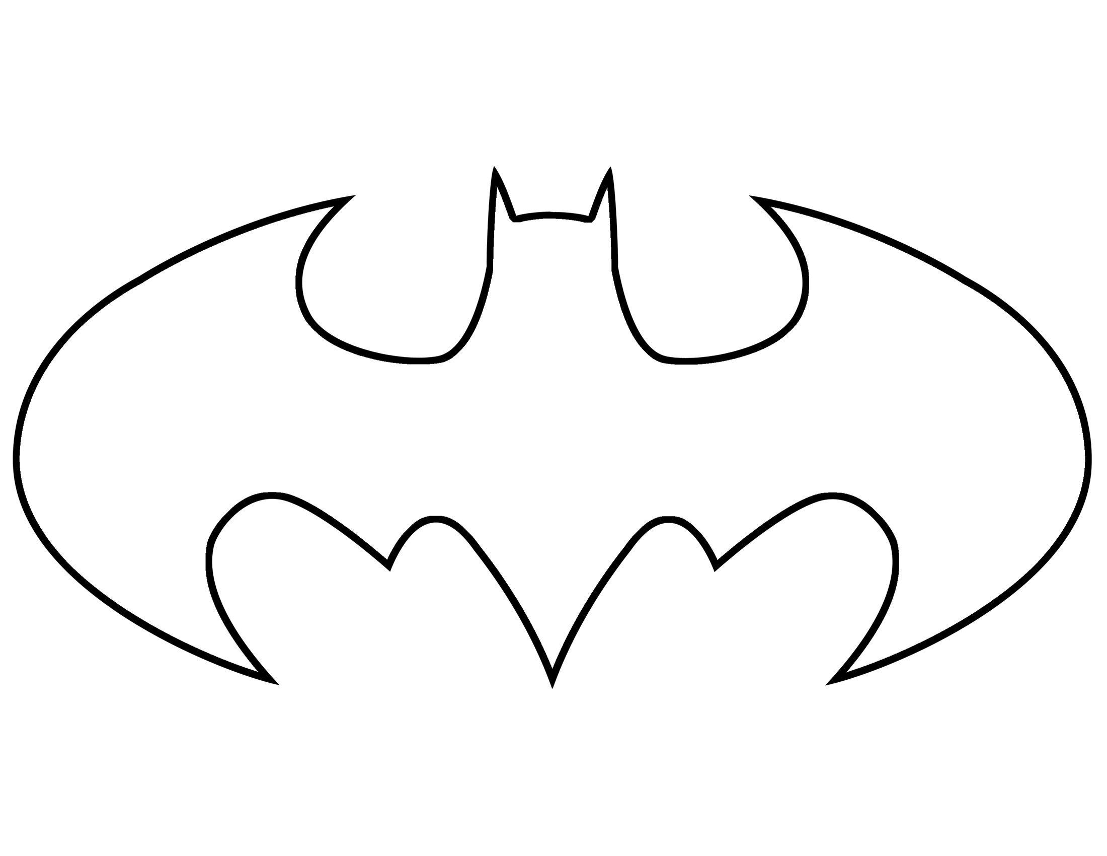 Трафарет - Бэтмен