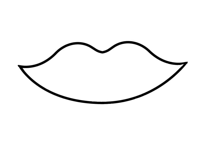 Трафарет - улыбка
