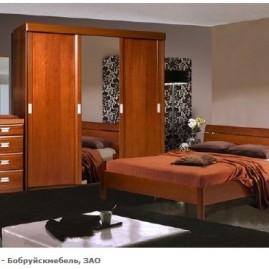 Спальня Валенсия - вишня, венге