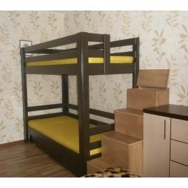 """Кровать """"Робин Гуд"""" со ступенями и ящиками"""