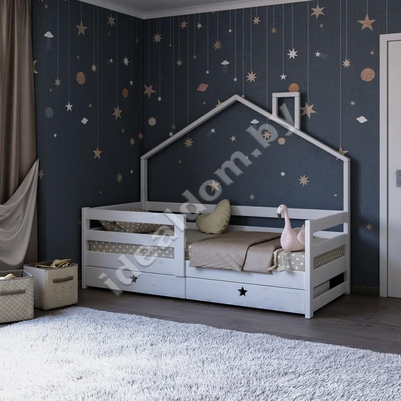 """Детская кровать-домик от 3-х лет """"Конфетти"""""""