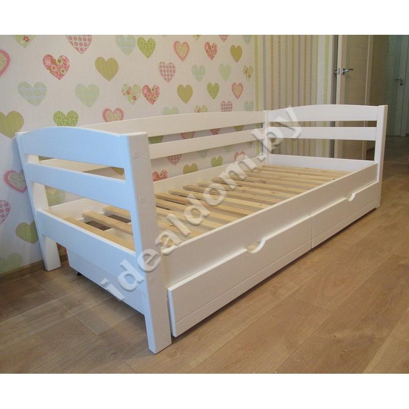 """Кровать односпальная """"Магия"""" с тремя спинками и ящиками"""