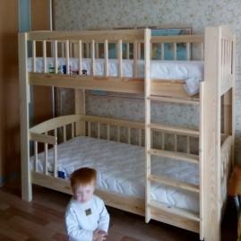 """Детская двухъярусная кровать """"Легенда"""""""