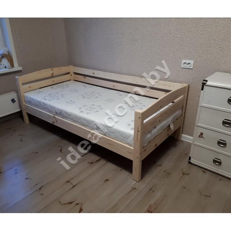"""Кровать односпальная """"Магия"""" с тремя спинками"""