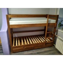 """Двухъярусная детская кровать """"Твикс"""" с ящиками"""