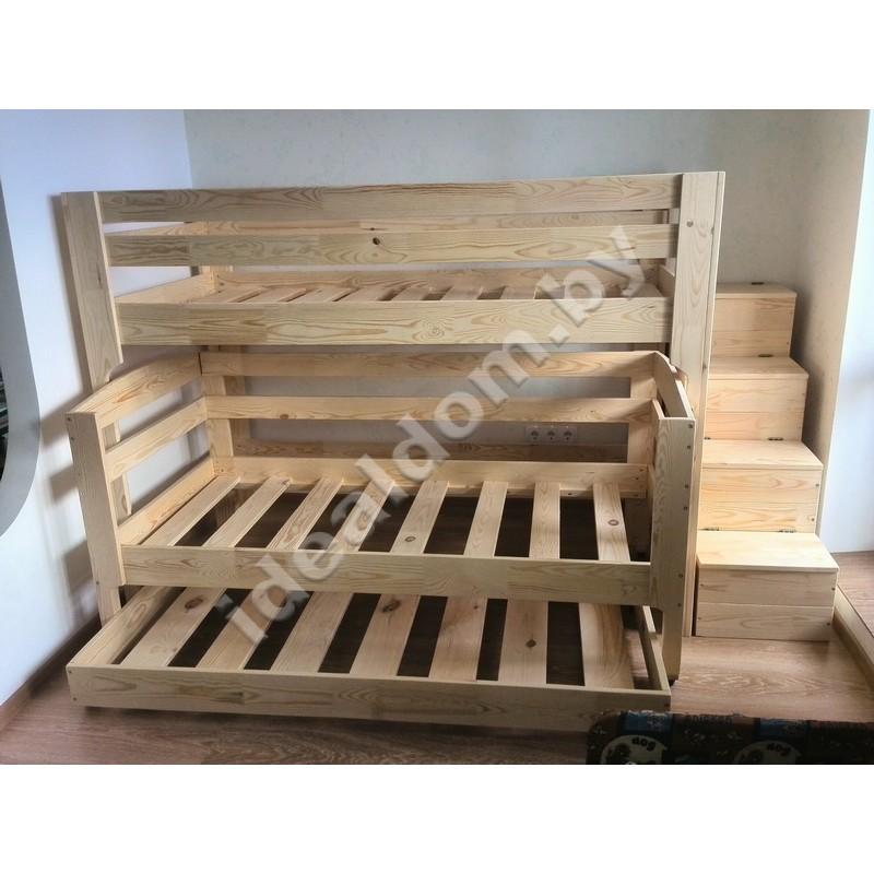 """Трехъярусная кровать """"Философ-3"""""""
