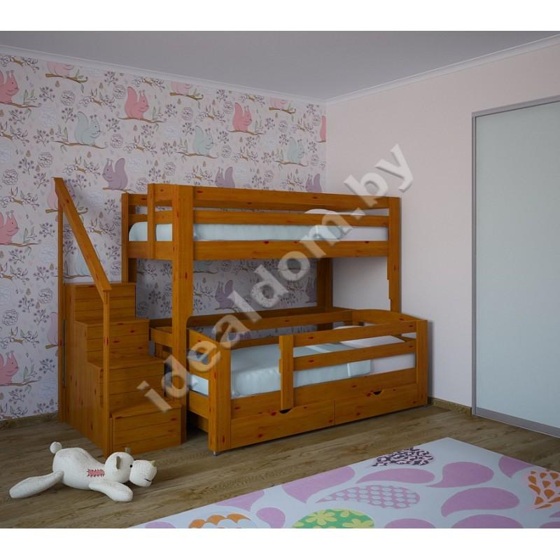 """Двухъярусная кровать """"Философ"""""""