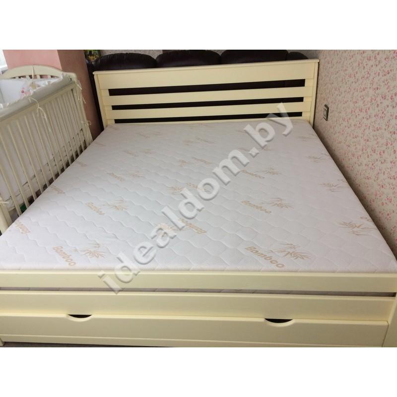 """Двуспальная кровать """"Купидон-3"""" с ящиками"""