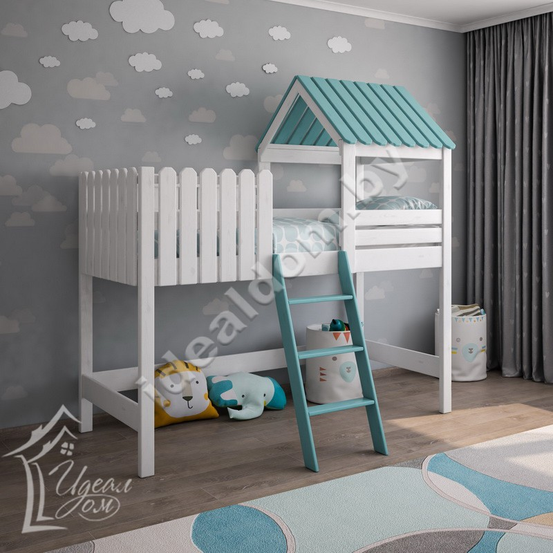 """Детская кровать-чердак """"Баюшка"""""""