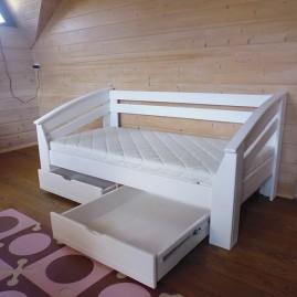 """Кровать """"Флэшка-Люкс"""" с ящиками на направляющих"""