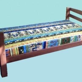"""Деревянная односпальная кровать """"Харизма"""""""