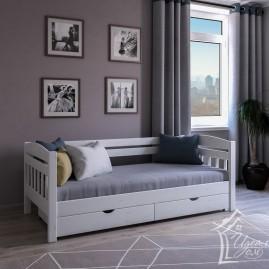 """Кровать 1-но спальная """"Славянка"""" с ящиками"""