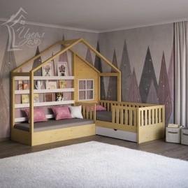 Кровать-дом «Бунгало»