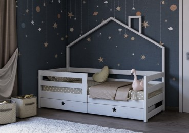 Как придать кроватке дизайнерский вид?