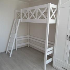 """Кровать-чердак """"Мечта"""" со съемной лестницей"""