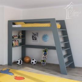 """Деревянная кровать-чердак """"Эверест"""""""