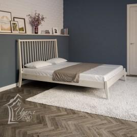 """Двуспальная кровать из массива """"Релакс"""""""