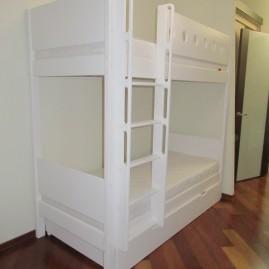 """Двухъярусная кровать """"Акварель"""" с ящиком"""