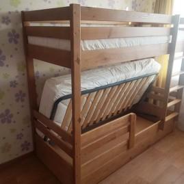 """2-х ярусная кровать """"Фишка"""" с подъёмным механизмом"""