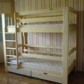 """Двухъярусная кровать """"Геркулес"""" с шуфлядками"""