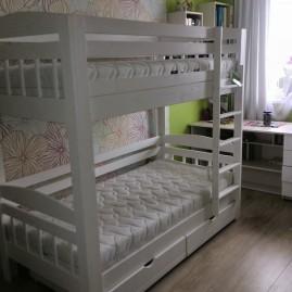 """Двухъярусная кровать """"Геркулес-Люкс"""" с ящиками"""