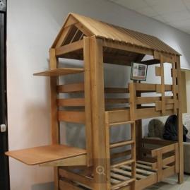 """Кровать """"Теремок"""" с боковым столиком"""