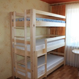 """Детская трехъярусная кровать """"Олимп"""""""