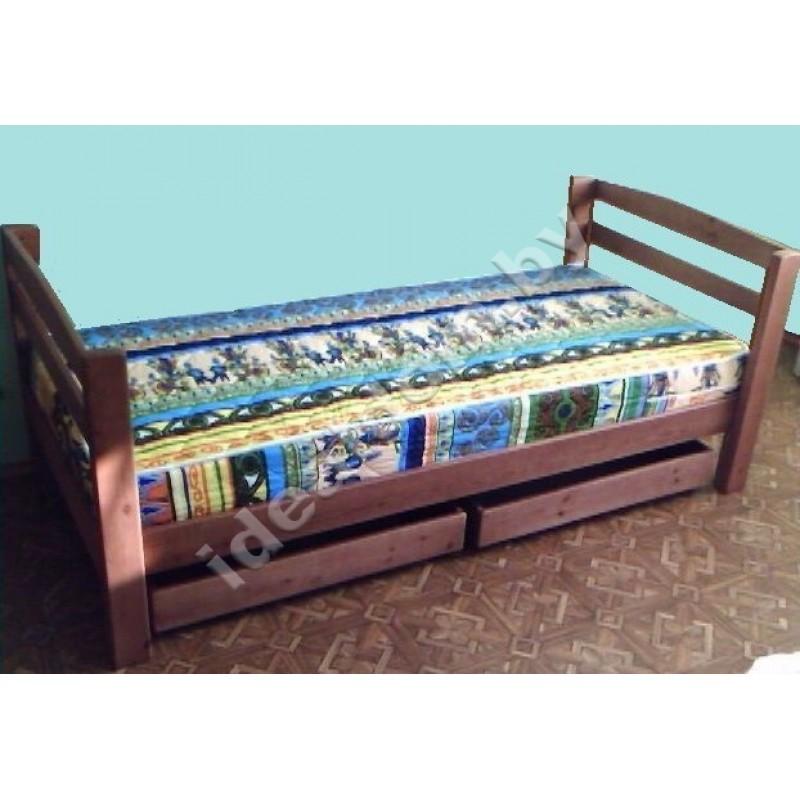 """1-но спальная кровать """"Харизма"""" с выдвижными ящиками"""