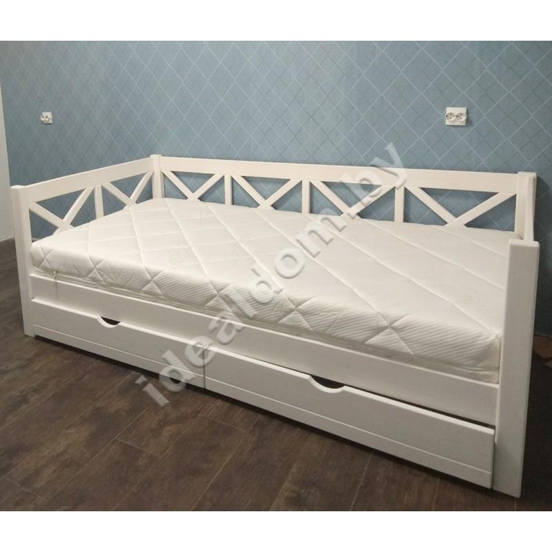 """Кровать односпальная """"Мечта"""" с ящиками"""