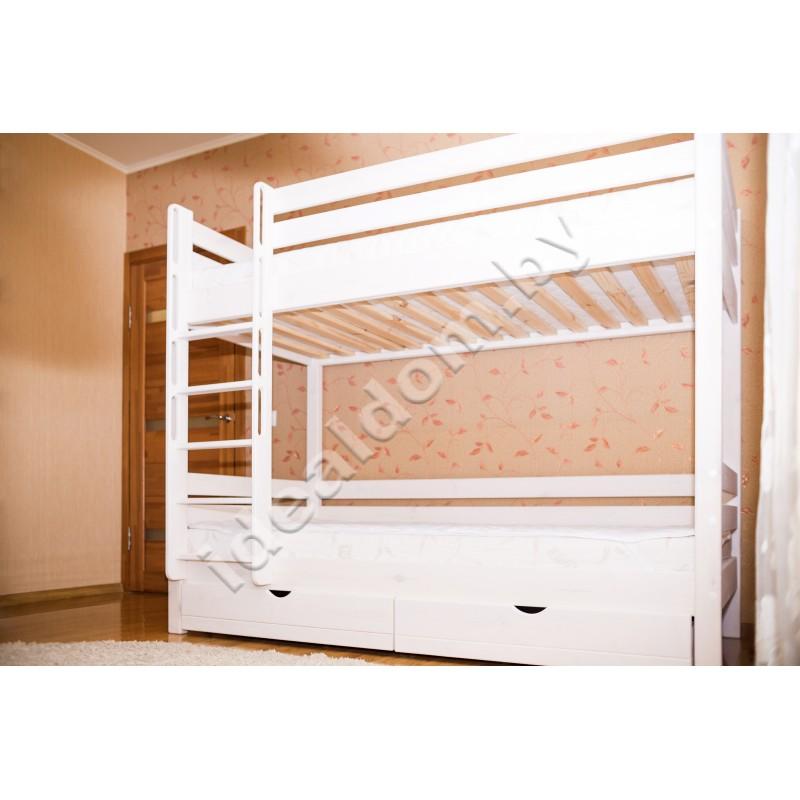 """Двухъярусная кровать """"Штурм"""" с ящиками"""