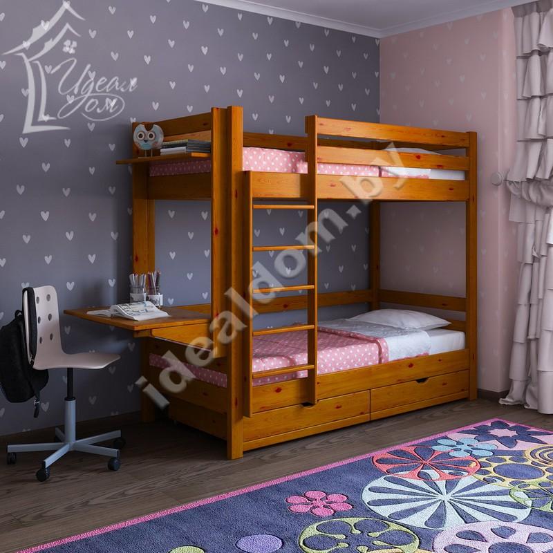 """Кровать """"Ералаш"""" с боковым столиком"""