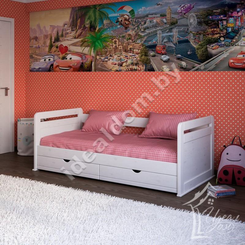 """Кровать одноярусная """"Гармония-Mini"""" с ящиками"""