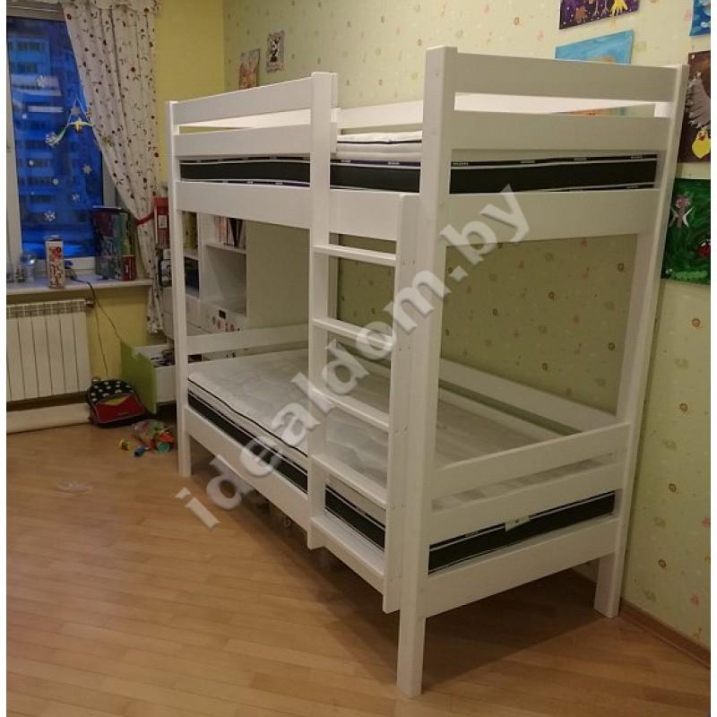 """2-х ярусная кровать """"Силач-Люкс"""""""