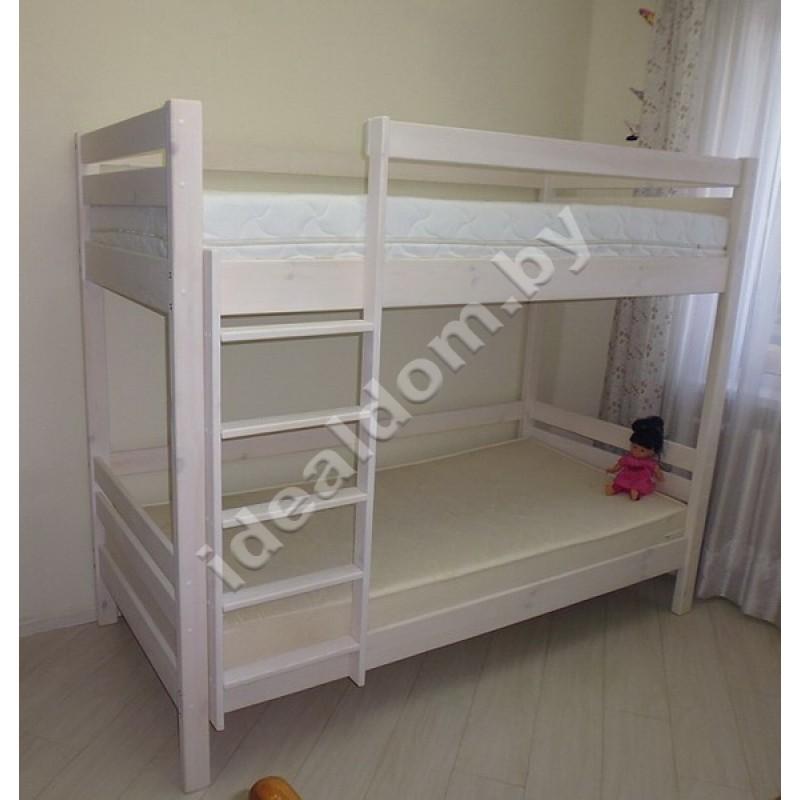 """Кровать двухъярусная """"Силач"""" из дерева"""